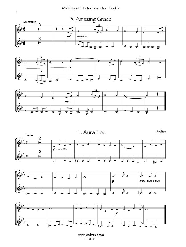 All Music Chords free french horn sheet music : My Favourite French Horn Duets Book 2 Edited by Barry Cockcroft ...