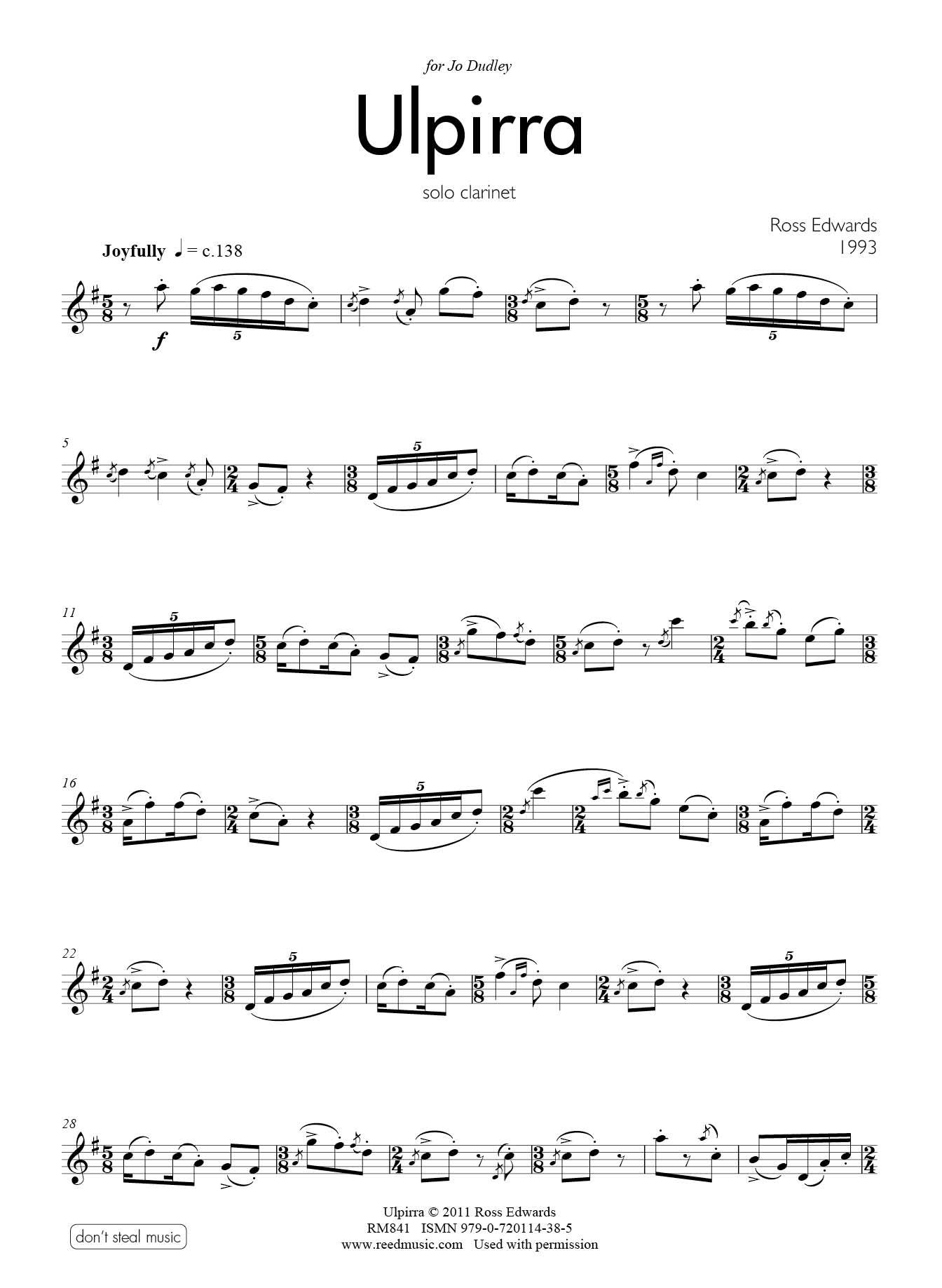 B Flat Clarinet Music For Beginners The Australian recorder player
