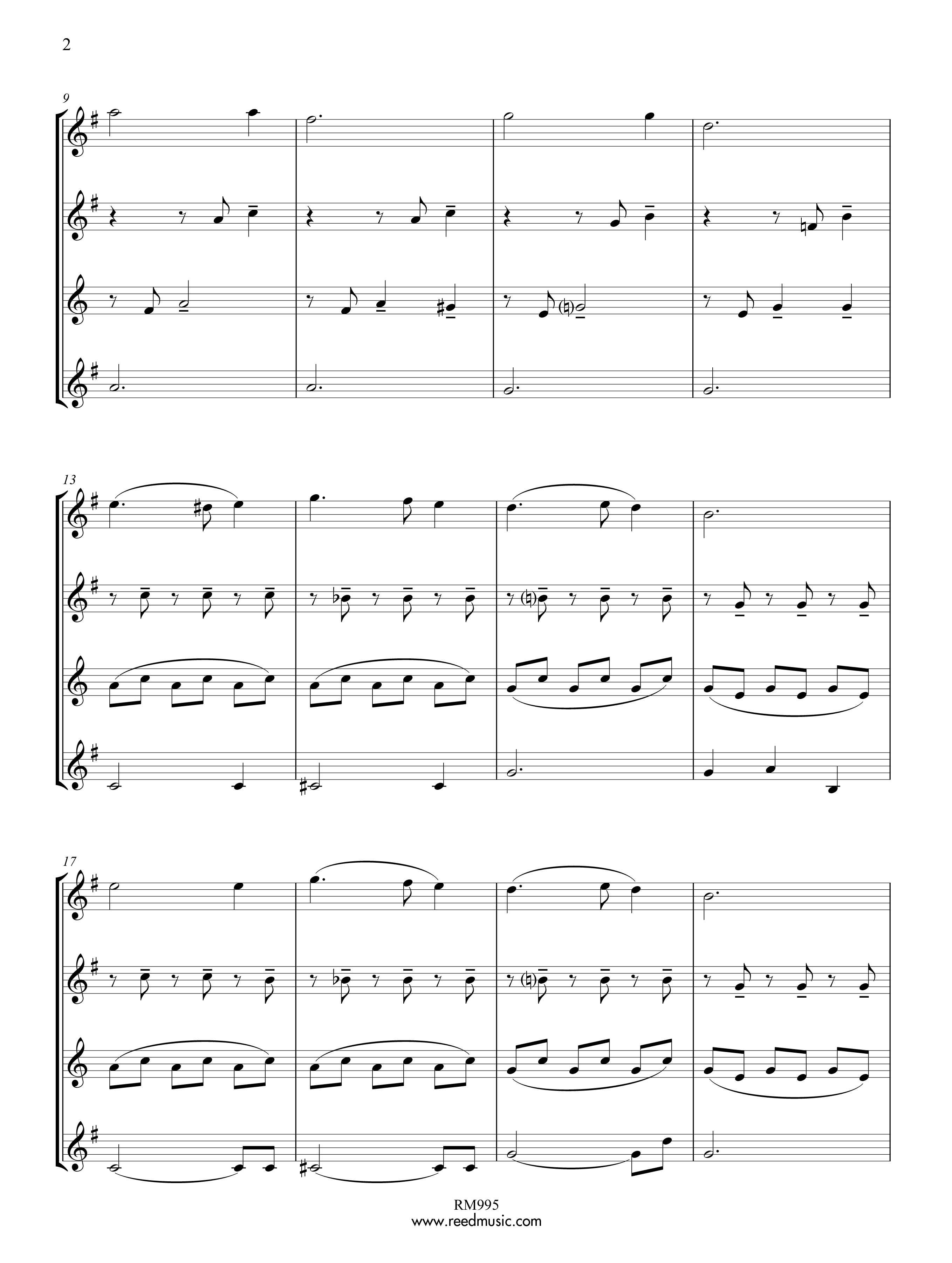 silent night alto sax pdf
